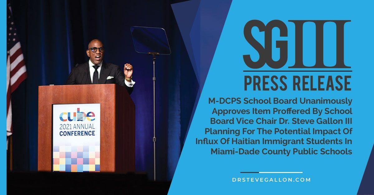 Haitian Immigrants in Miami Public Schools